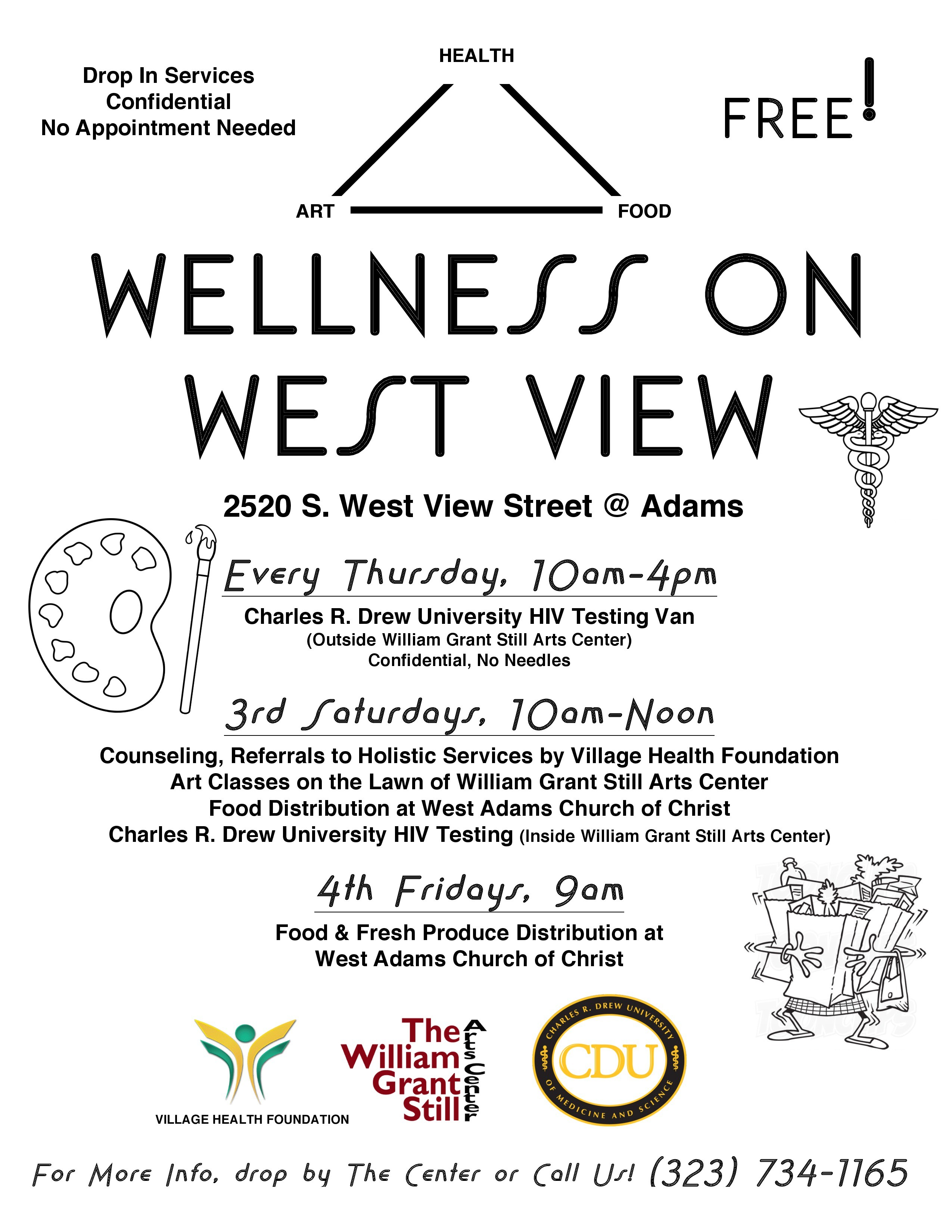 "Youth Concert and ""Wellness on West View"" – William Grant"